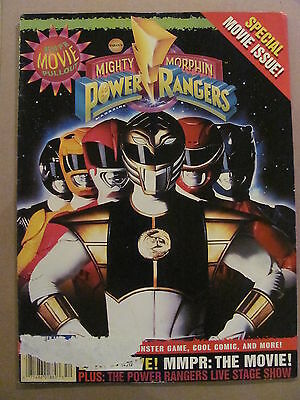 Mighty Morphin Power Rangers Magazine Summer 1995 Special Movie Issue