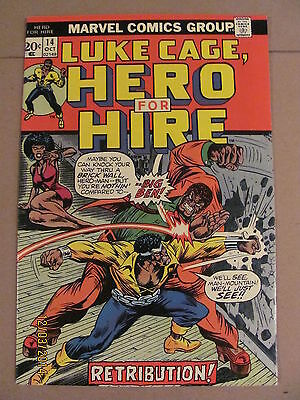 Luke Cage, Hero For Hire #14 Marvel Bronze Age 1973 Netflix