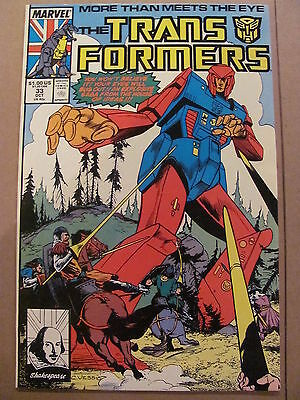 Transformers #33 Marvel Comics 1984 Series 9.2 Near MInt-
