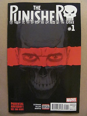 The Punisher #1 Marvel Comics 1st Print 2016 Series 9.6 Near Mint+