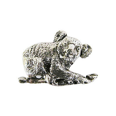 Pewter ~ Koala Bear ~ Lapel Pin / Brooch ~ M157