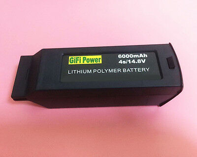 6000MAH 4S 14.8V Replacement Lipo Battery Batterie For YUNEEC TYPHOON H