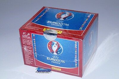 Panini Euro France 2016 EM 16 - Display 100 Tüten 500 Sticker Neu/OVP