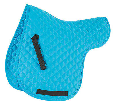 NEW Shires Wessex Everyday Diamond Quilt Numnah Saddle Pad - Pony / Cob / Full