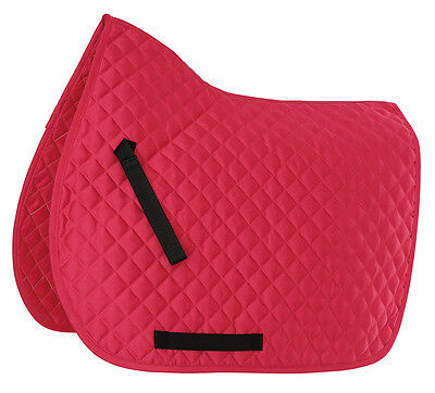 NEW Shires Wessex Everyday Diamond Quilt Saddlecloth / Saddle Pad - All Sizes