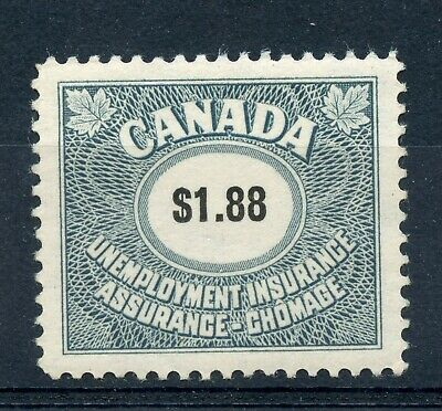 Weeda Canada FU82 VF mint NH $1.88 Unemployment Insurance 1960 issue revenue