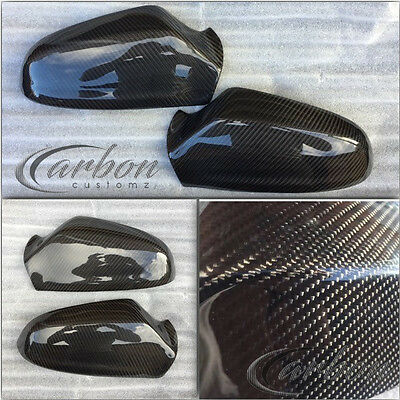 Vauxhall/Opel Astra H Real Carbon Fibre Add On Mirror Covers VXR CDTI SRI