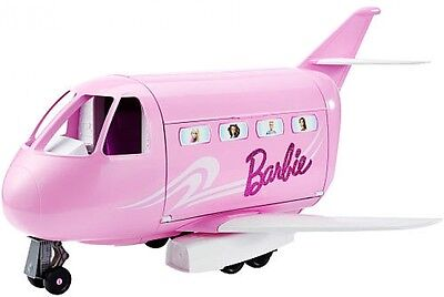 Barbie Pink Airplane Private Jet Glamour Vacation Pretend Play
