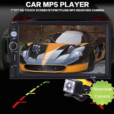 7 inch Car Audio Stereo MP5 Player Bluetooth V2.0 Touch Screen Support SD USB FM