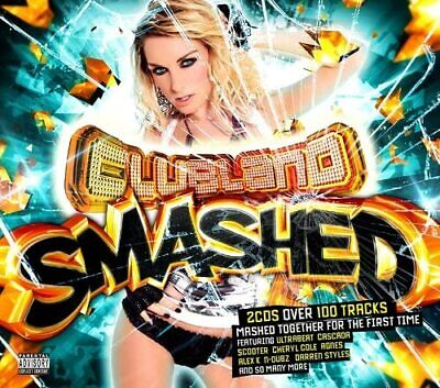 Clubland Smashed Various Artists Vol 1 1St Volume Audio Music Cd New Sealed