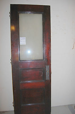 ANTIQUE OFFICE DOOR WITH GLASS THE STUDEBAKER OFFICES 2 available