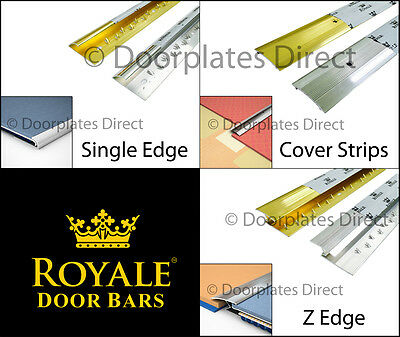 Full Range - Germany Quality Carpet Door Bars - Metal Threshold - Strips Profile