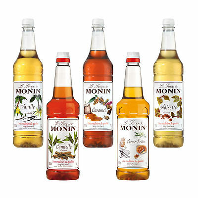 Monin Coffee and Coctail Syrups 700ml, 1l (Multilisting), Costa syrups,