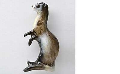 Painted ~ Ferret ~ Refrigerator Magnet ~ MP182M
