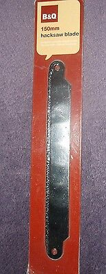 Tungston Carbide Edged Blade for use with 150mm Hacksaw B&Q