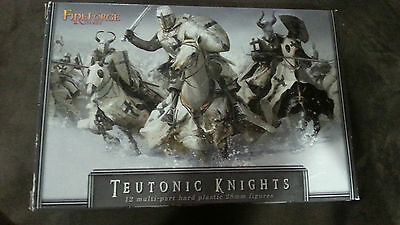 Box of 12 Teutonic Knights by Fireforge Games  multi-part plastic