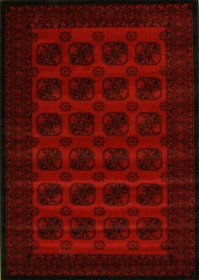 NEW Classic Afghan Design Rug Red