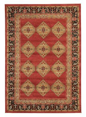 NEW Shiraz Design Rug Red