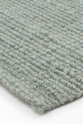 NEW Chunky Natural Fiber Barker Blue Rug