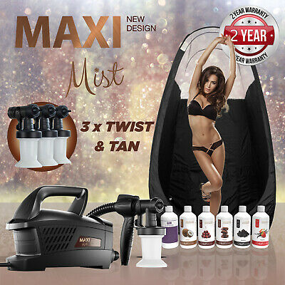 Maximist Evolution Tnt Pulvérisateur Bronzage Kit (Inclus Pop-Up Compartiment et