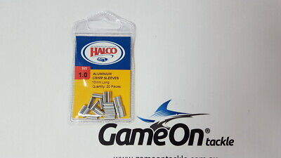 New Fishing HALCO Aluminium Crimp Sleeves