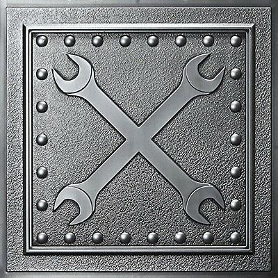 "Wrenches Ceiling Tile (24"" x 24"")"