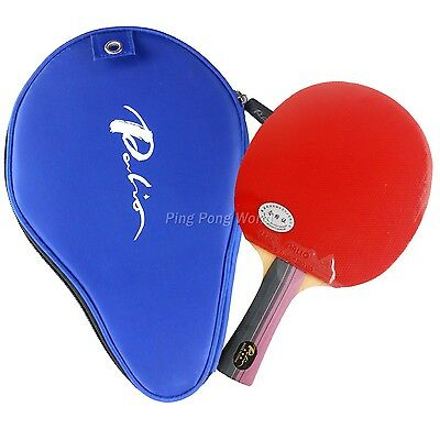 Palio 3-STAR 3STAR 3 STAR Pips-In Table Tennis Racket with Case