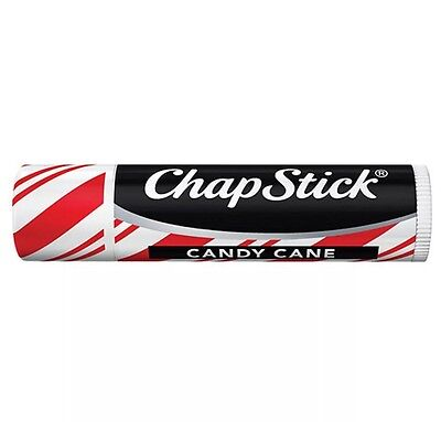 NEW Chapstick Lip Balm - Candy Cane - USA Made Limited Edition Flavour Xmas Gift