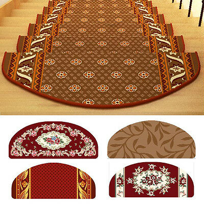 Washable Stair Treads Non-slip Durable Carpet Stair Mats Rugs Pads