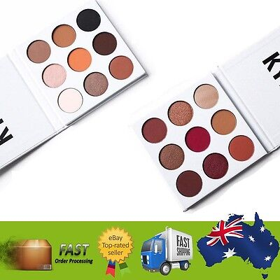 The Bronze Palette 9 Color Pressed Powder Nude Eye Shadow The Burgundy Palette