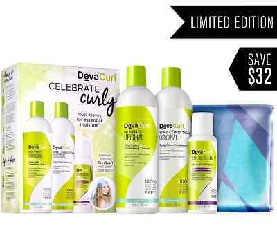 DevaCurl Celebrate Wavy Limited Edition Holiday Set FREE SHIPPING