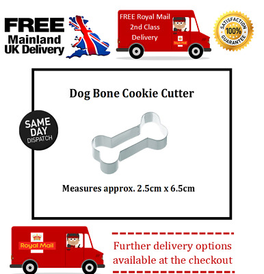 Small Dog Bone Cookie / Biscuit Cutter for home made dog treats