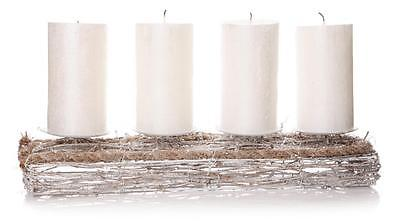 Church Pillar Candle Stick Holder Wedding Table Candleabra Vintage Gift (4)