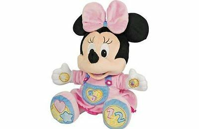 Disney Minnie Mouse Baby Soft Cuddly Activity Talking Musical Plush  Toy  6 M+