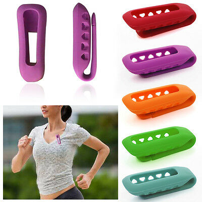 1PCS New Replacement Silicone Clip Belt Holder Case Cover Fitbit One Tracker