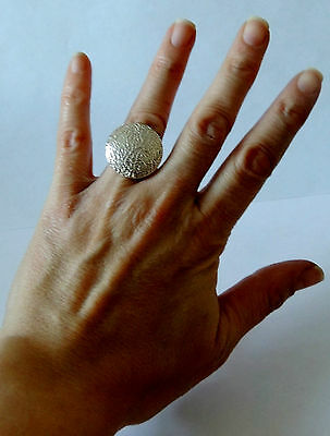 925 STERLING SILVER ROUND RING size K 1/2 (everyday wear)