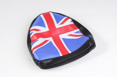 LML Star 125 150 200 Union Jack Backrest Pad and Cover for 3 in 1 Carrier