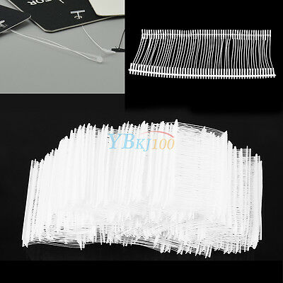 "5000pcs 50mm 2"" Clothes Garment Price Label Tag Gun Barbs Tagging Fasteners Tool"