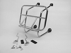 Vespa PX T5 GS Rally 125 150 200 Cuppini Italian Chrome Front Carrier