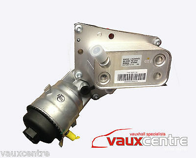 Vauxhall Oil Filter And Cooler 1.9 Diesel Engines 93178917 93184675