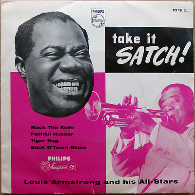 Louis Armstrong - Take It Satch! - Dänemark 195? - VG+ to VG+(+)