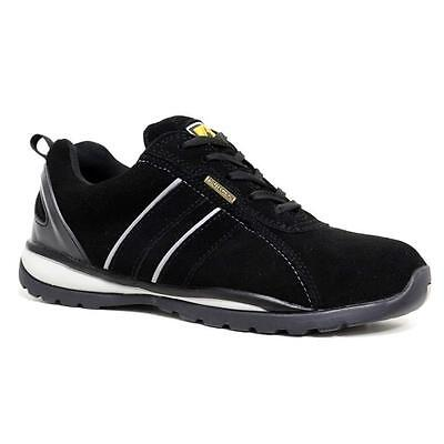 Ppe Mens Ladies Women Lightweight Steel Toe Cap Safety Shoes Trainers Boots Work