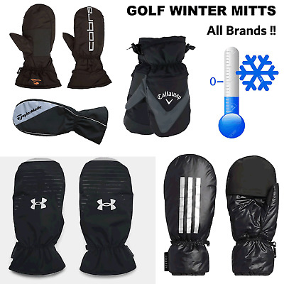 Winter Golf Mittens New 2017 All Styles Winter Golf Gloves Cold Weather Mitts