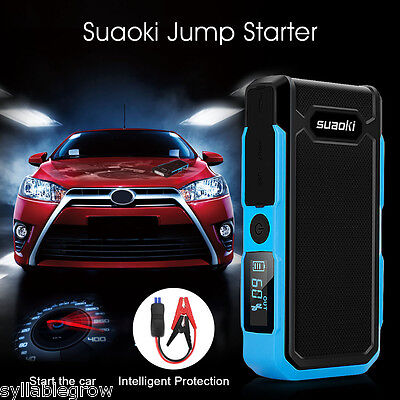 Suaoki G7 PLUS 18000mAh Auto Jump Starter Pack Booster Chargeur Batterie LED FR