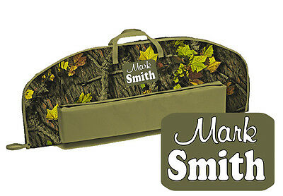 """39"""" URBAN CAMO Boys, Mens Youth BOW CASE """"FREE NAME"""" Archery Soft Case Nice Gift"""