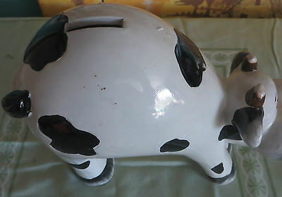 Porcelain Cow Bank