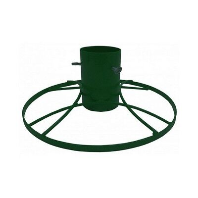 Bosmere G481 4 inch Contemporary Christmas Tree Stand Green Sparkle