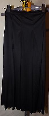 Bal Togs Adult Petite Black Dance Skirt Halloween Witch Polyester