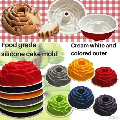 Baking Form Pan Rose Mould Non Stick Cake Tin Mold Tray Spring Round Bakeware