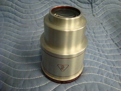 35mm/70mm Bausch & Lomb Super Cinephor Projection Lens 5.25""